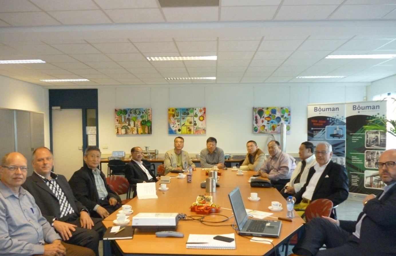Delegatie uit Beijing bezoekt Bouman