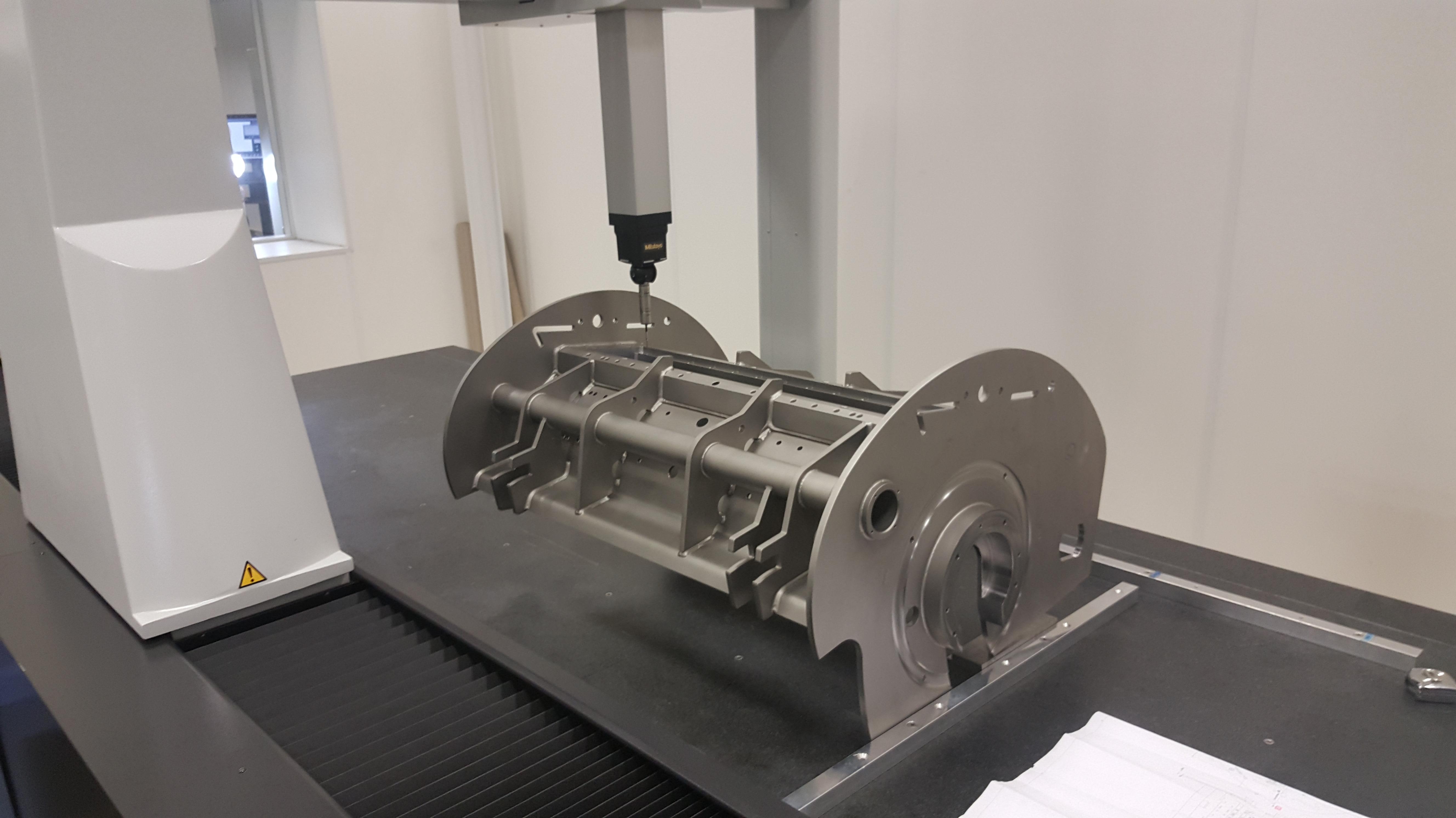 Bouman produceert complexe machinedelen